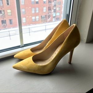 NWOB Sam Edelman Yellow Hazel Pumps Size 10